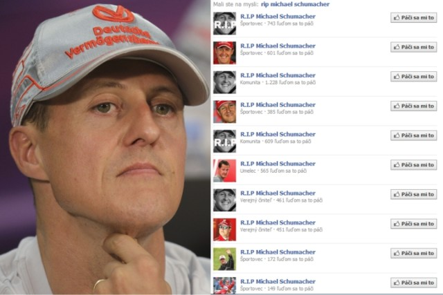 schumacher facebook
