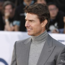 """Tom Cruise arrives at the LA premiere of """"Oblivion"""" at the TCL Chinese Theater on Wednesday, April 10, 2013 in Los Angeles. (Photo by Todd Williamson/Invision/AP)"""