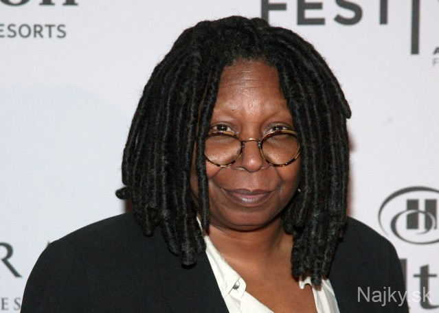 Actress Whoopi Goldberg attends the Tribeca Film Festival Awards on Thursday April 25, 2013 in New York. (Photo by Andy Kropa/Invision/AP)