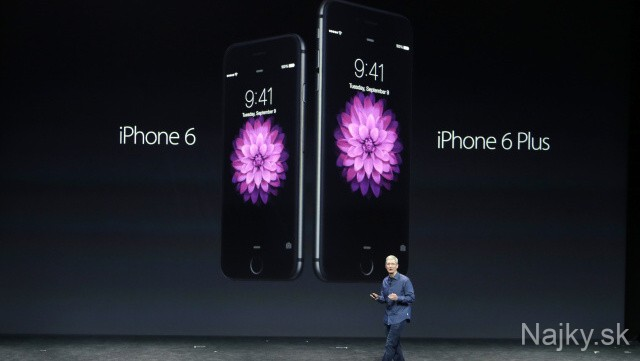 Tim Cook; iPhone 6; iPhone 6 Plus