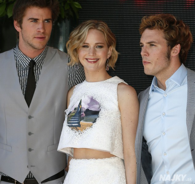 Jennifer Lawrence, Sam Claflin