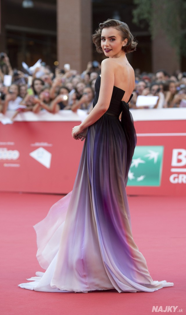 Italy Rome Film Festival Love Rosie Red Carpet