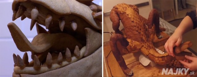 Swedish-3D-Artist-Bakes-The-Legendary-Smaug-From-The-Hobbit-Out-Of-Gingerbread4__880