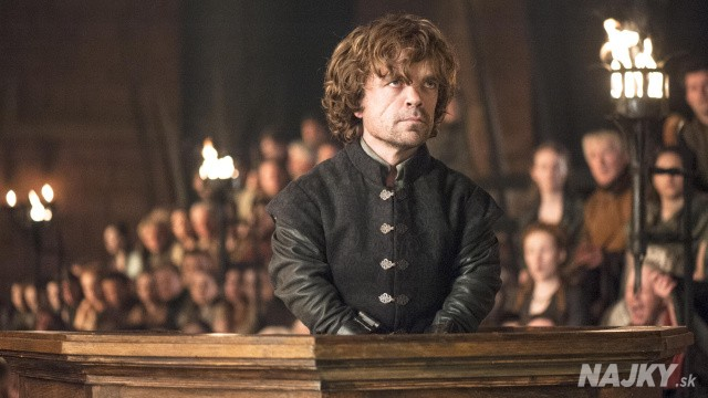 "This photo provided by HBO shows Peter Dinklage as Tyrion Lannister on trial in a scene from season 4 of ""Game of Thrones."" The cable channel said Thursday, Jan. 8, 2015, that 10 episodes of ""Game of Thrones"" will show during its fifth season that begins April 12. (AP Photo/HBO, Helen Sloan)"