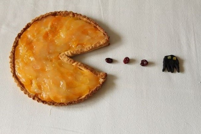 http://www.instructables.com/id/Pacman-Pie/
