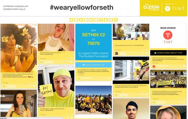 http://www.businessinsider.com/snapchat-wearyellowforseth-story-viewed-26-million-times-2015-3