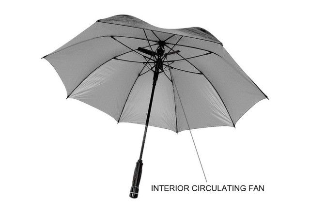 http://www.sharperimage.com/si/view/product/Fan-Umbrella/200736?question=fan%20umbrella