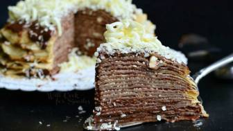 Double-Chocolate-Chocolate-Pudding-Crepe-Cake-4-from-willcookforsmiles.com_
