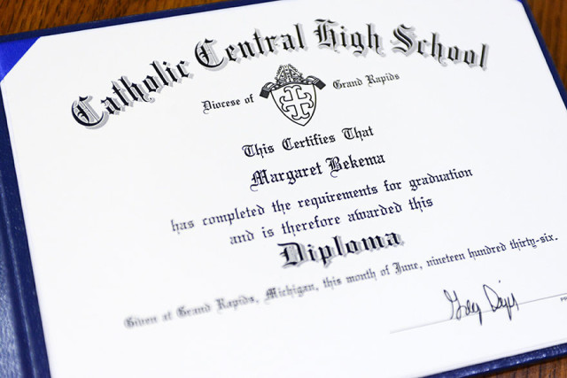 Grandmother honorary highschool diploma margaret bekema 17.jpg