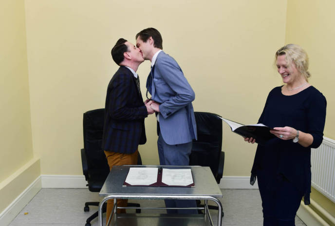 First Same Sex Marriage Takes Place In Ireland