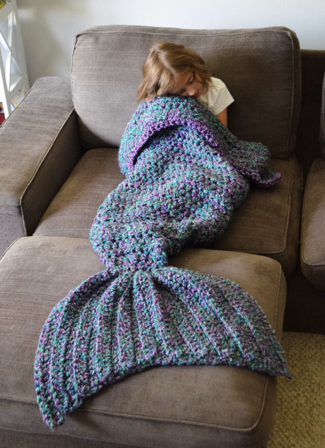 Crocheted mermaid tail blankets melanie campbell 3.jpg