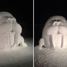 Giant animal snow sculptures bartz brothers 12.jpg
