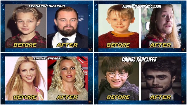 DiCaprio, Britney Spears, Harry Potter