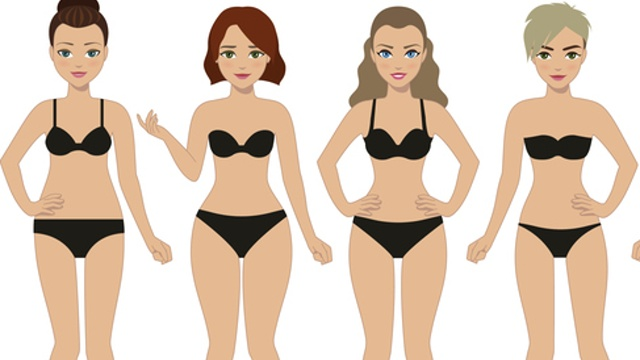 Female body shape set