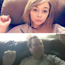 Dad recreates daughter selfies cassie martin chris martin 9 57736f8bb1896__605.jpg