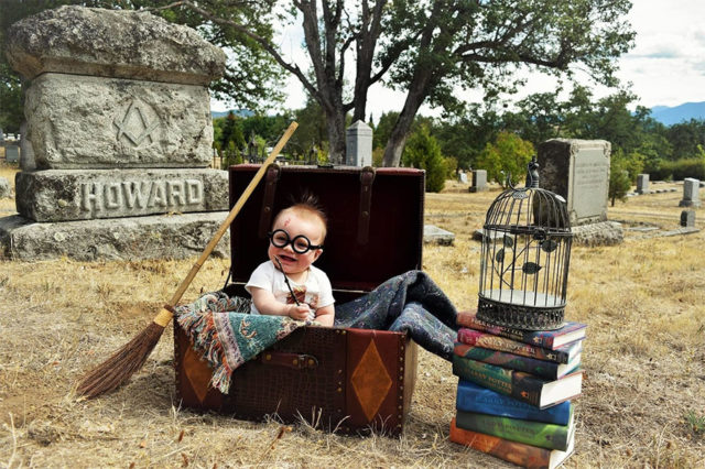 Harry potter themed newborn photography kelsey clouse 5.jpg