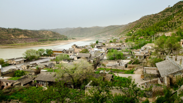 Ancient village in Shanxi Province, China