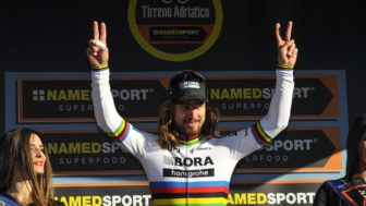 Italy Cycling Tirreno Adriatico
