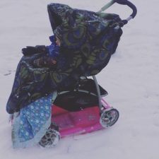 11 hack on pushing stroller in the snow.jpg