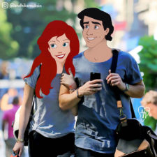 Disney characters are put in unusual situations 5900655ca622b__700.jpg