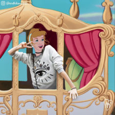 Disney characters are put in unusual situations 5900655e590d3__700.jpg