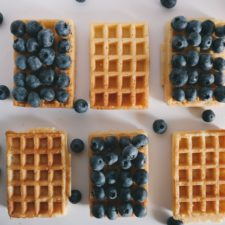 Http://maxpixel.freegreatpicture.com/Food Berries Blue Waffle Blueberry Danish Waffle 1846616