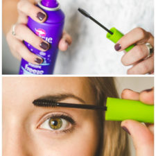 Tried true makeup hacks help your brows stay in place by spraying an unused mascara wand with hairspray and brushing across your eyebrow lilluna.com 2.jpg
