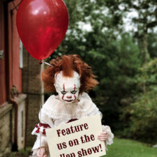 Clown child photoshoot movie it pennywise eagan tilghman 20.jpg