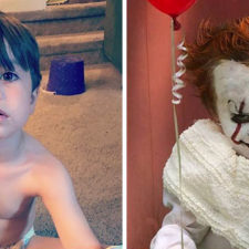 Clown child photoshoot movie it pennywise eagan tilghman 22.jpg