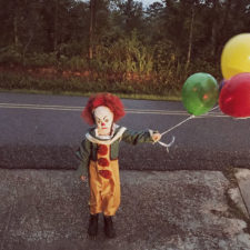 Clown child photoshoot movie it pennywise eagan tilghman 28.jpg
