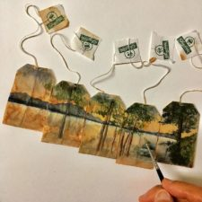 Artist makes incredible mini paintings in tea bags and the result is a big work of art 5a65b79daed2f__700.jpg