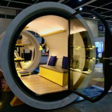 Called the opod the tube homes measure 100 square feet for perspective a standard one car garage is about 200 square feet.jpg