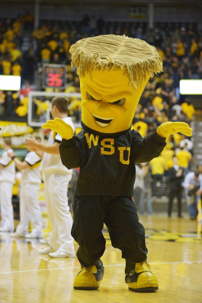 USP NCAA BASKETBALL: TULSA AT WICHITA STATE S BKC USA KS