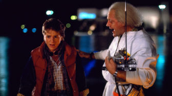 Michael J. Fox Christopher Lloyd