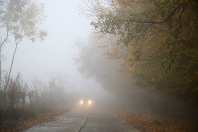 Https://pixabay.com/en/fog autumn car mist foggy forest 510670/