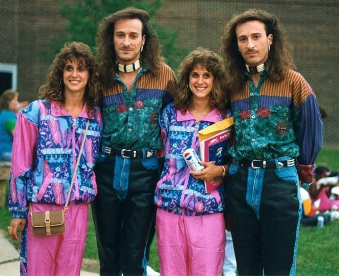 The '80S Were All About Pushing The Limits In Terms Of Colors within Stereotypical 80S Fashion