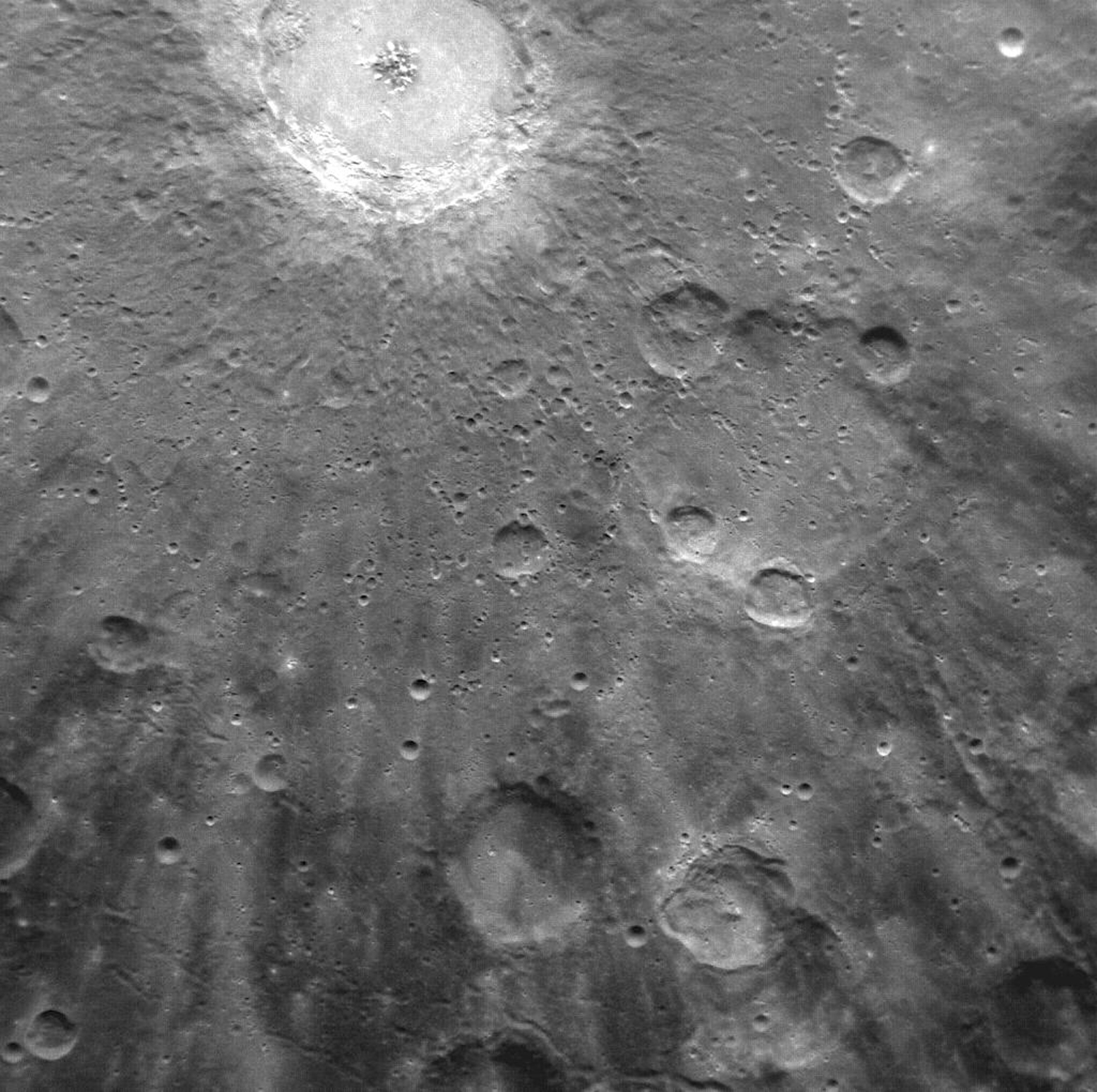 Mercury Obital View