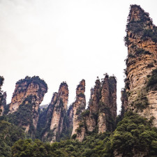 Zhangjiajie National Forest Park, Čína