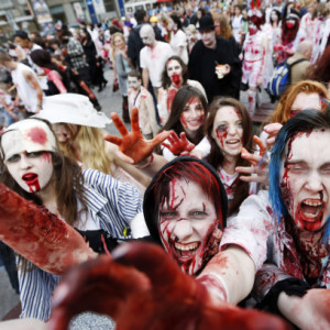 Czech Republic Zombie Walk