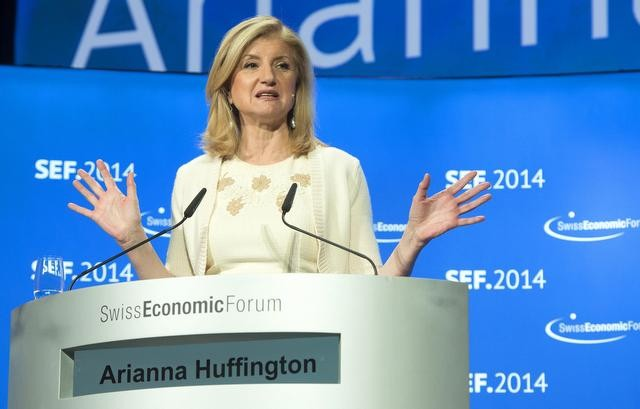 Arianna Huffington, founder, president and editor-in-chief ot