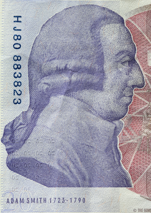 ekonómia Adam Smith