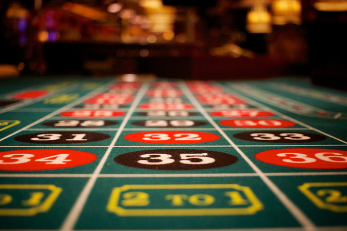 Roulette Table 35