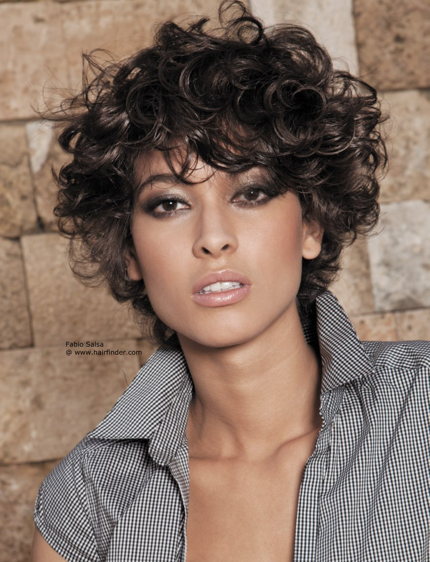Short trendy curly hairstyles 3