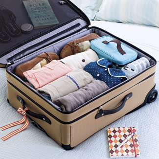 Orderly Suitcase
