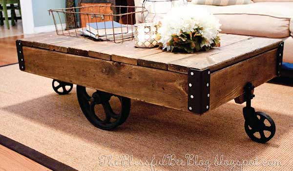 DIY industrial furniture woohome 0