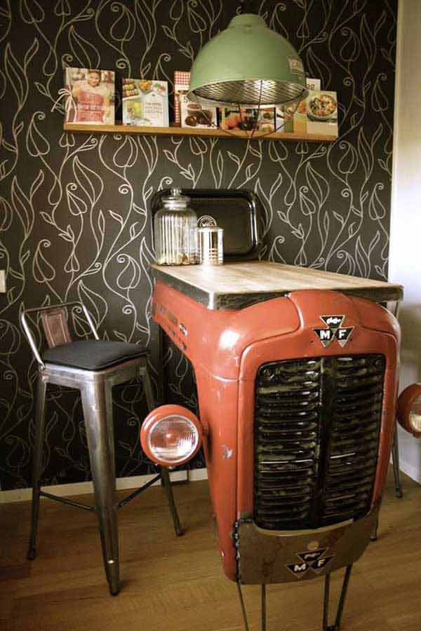 DIY industrial furniture woohome 7