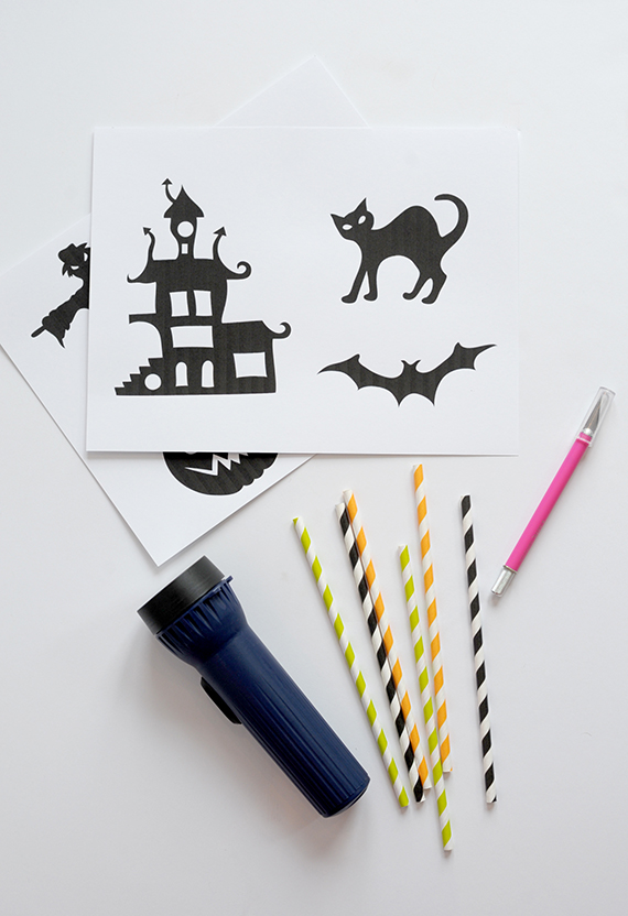 halloween shadow puppets supplies 2