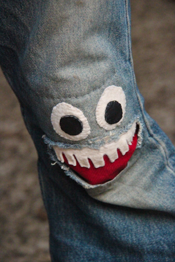 How to Mend Jean Holes in Cutest Way3