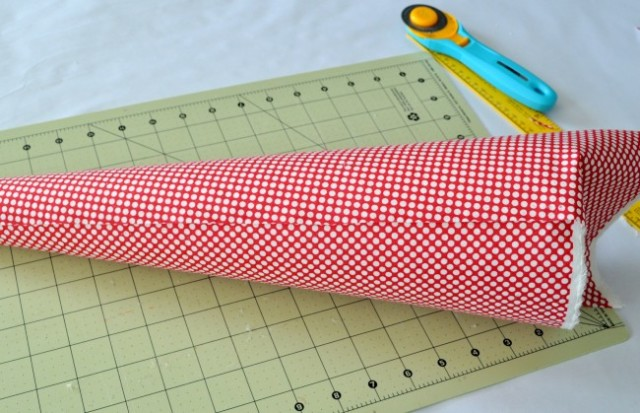 Covering a cone with fabric madeinaday.com_ 650x419.jpg