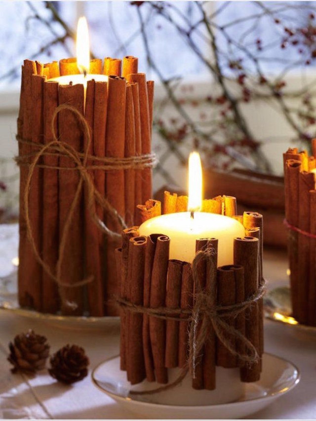 Pillar candles wrapped in cinnamon sticks.jpg